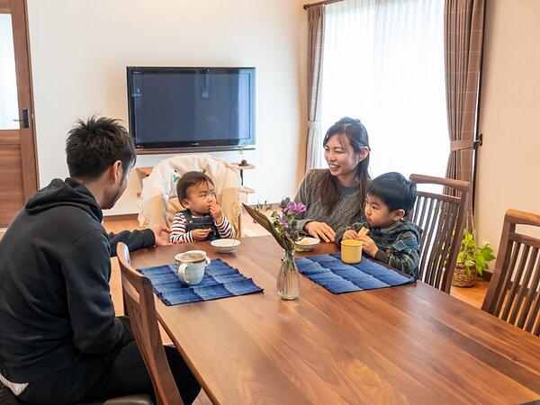 家族の時間が深まる、夢が詰まった家づくりの画像
