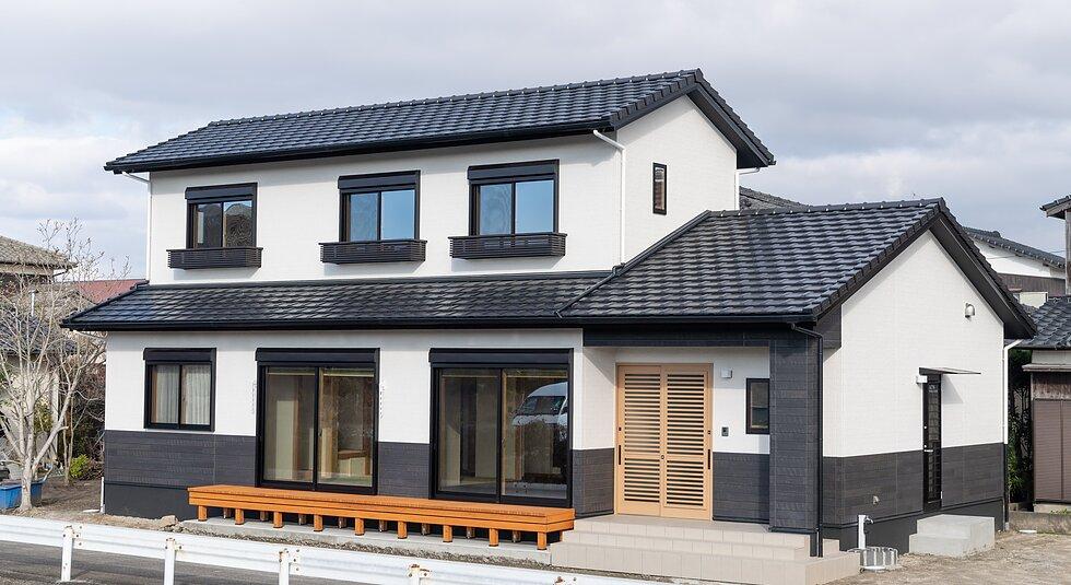 <佐賀市注文住宅:K様邸>和風モダンな家のイメージ