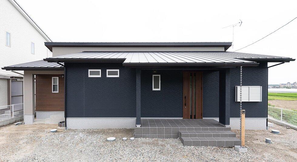 <佐賀市注文住宅:M様邸>家族5人の平屋の住宅のイメージ