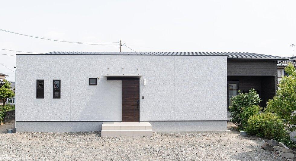 <佐賀市注文住宅:K様邸>家族がつながる平屋の家のイメージ