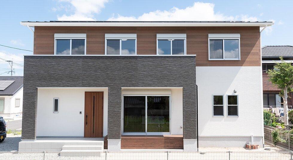 <佐賀市注文住宅:M様邸>『完全同居型』二世帯住宅のイメージ