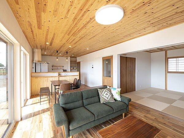 佐賀市注文住宅:Y様邸「木の家」 引渡式の画像