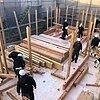 佐賀市H様邸木の家 棟上げのイメージ