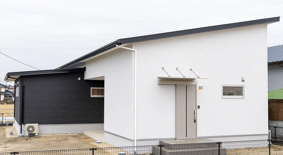 <佐賀市注文住宅:A様邸>家事楽動線がある平屋のイメージ