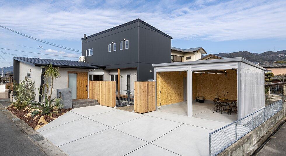 <佐賀市注文住宅:E様邸>大型犬との豊かな暮らしができる家のイメージ